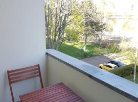 Große zwei Zimmer Wohnung mit Balkon