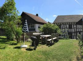 Haus Innerdorf gemütliches Ferienhaus im Taunus
