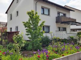 urige gemütliche Ferienwohnung 64 m2 in Dielheim, Nähe Heidelberg