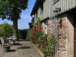 Kleines Cottage mitten in der Natur mit eigener Terrasse und Sonnenbalkon