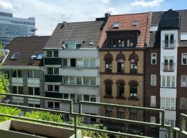 Apartment mit Sonnenbalkon