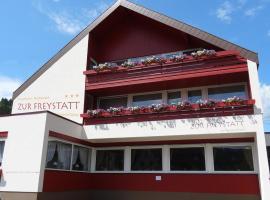 Privathotel Garni Zur Freystatt am Wasserschloss