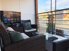 Modernes City Apartment mit Heimkino in Bielefeld