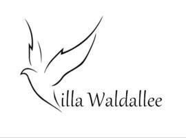 Villa Waldallee - Ferienwohnung (holidayhome) 84qm