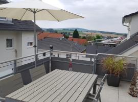 Dachgeschosswohnung mit S-Bahn Anschluß