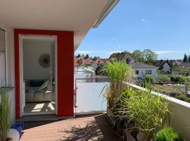 Moderne 3-Zimmer-FeWo mit Tiefgarage und Balkon