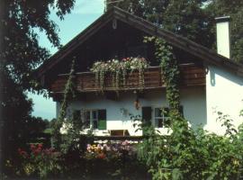 Zimmer mit Alpenblick