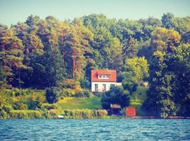 Ferienhaus SeeWaldMeer am Pinnower See bei Schwerin