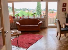 Geräumige 2 Etagen-Wohnung mit traumhaftem Blick über Neustadt für Paare,Kleingruppen und Musiker