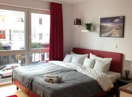 Double City Apartment.Modern.Balkony