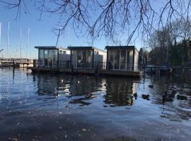 Designer-Hausboot Wannsee