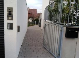 Schönes, sehr sauberes 1 Zi Apartment Nähe Flughafen/Messe