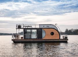 Exklusives Hausboot für 4 Personen nahe Berlin