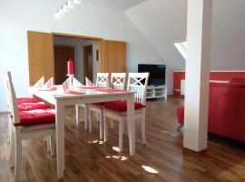 Neu eingerichtetes, grosses Apartment mit drei Schlafzimmern in Schwarzheide