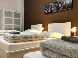 cosy three room apartment with flatscreen TV
