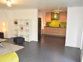 Moderne Wohnung mit Terrasse, Nähe Köln, Messewohnung