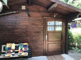Ferienwohnung A: Das Blockhaus - [#127009]
