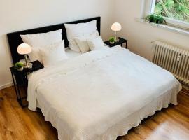 Direkte Uninähe: Ferienwohnung mit großem Doppelbett, Küchenzeile und neu renoviertem Badezimmer