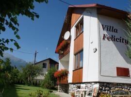Villa Felicity, Nová Lesná