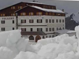 Hotel Folgore, Passo Stelvio