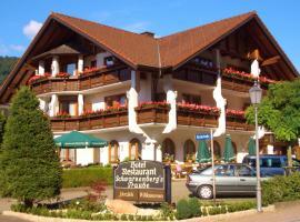 Hotel Schwarzenbergs Traube, 格洛特塔尔