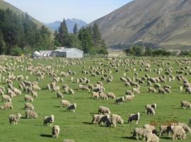 Dunstan Downs High Country Sheep Station, Omarama