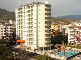 Okan Tower Apart Hotel, Alanya