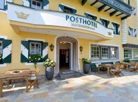 Posthotel Mayrhofen, Mayrhofen