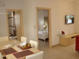 Daniel Luxury Apartments, Kalathos
