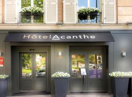 Quality Hotel Acanthe - Boulogne Billancourt, Булонь-Бийанкур