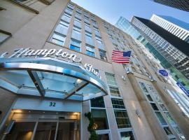 Hampton Inn Manhattan/Downtown- Financial District, Нью-Йорк