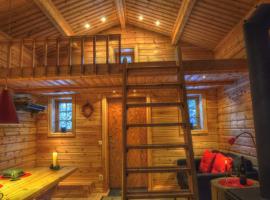 Cottage On Wild River In Lapland/Sweden, Karlsten