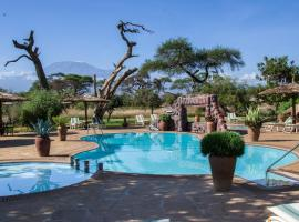 Sentrim Amboseli Lodge, Amboseli