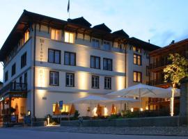 Hotel Weisses Kreuz, Bergün