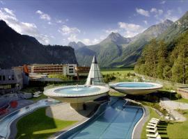 Aqua Dome 4 Sterne Superior Hotel & Tirol Therme Längenfeld, Längenfeld