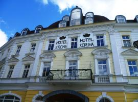 Hotel Koruna, Есеник
