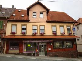 Ferienwohnung Cafe Zum Goldenen Stern