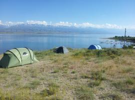 Camping Issyk-Kul, Rybpunkt