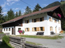 Haus Elsa, Holzgau