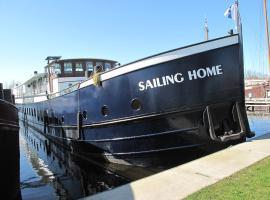 Botel Sailing Home, Amesterdão