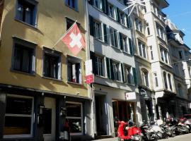 Hotel Weisses Kreuz, St. Gallen