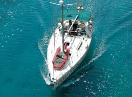 Sailboat Thetis, Saloniki