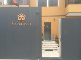 Residencial Maculusso, Luanda