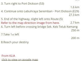 Port Dickson Semi-D, Port Dickson
