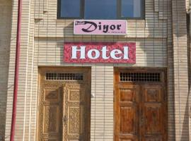 Diyor Hotel, Самарканд