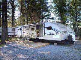 Lake George Escape 40 ft. Premium Travel Trailer 45, Warrensburg