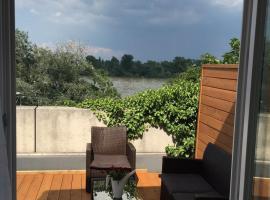 Apartment 'Rheinblick' mit grosser Terrasse