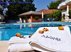 Adonis Hotel, Mýtikas