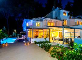 Muses Villas Resort, Sani Beach