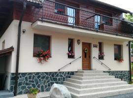 Apartmány Podkovička, Pavčina Lehota